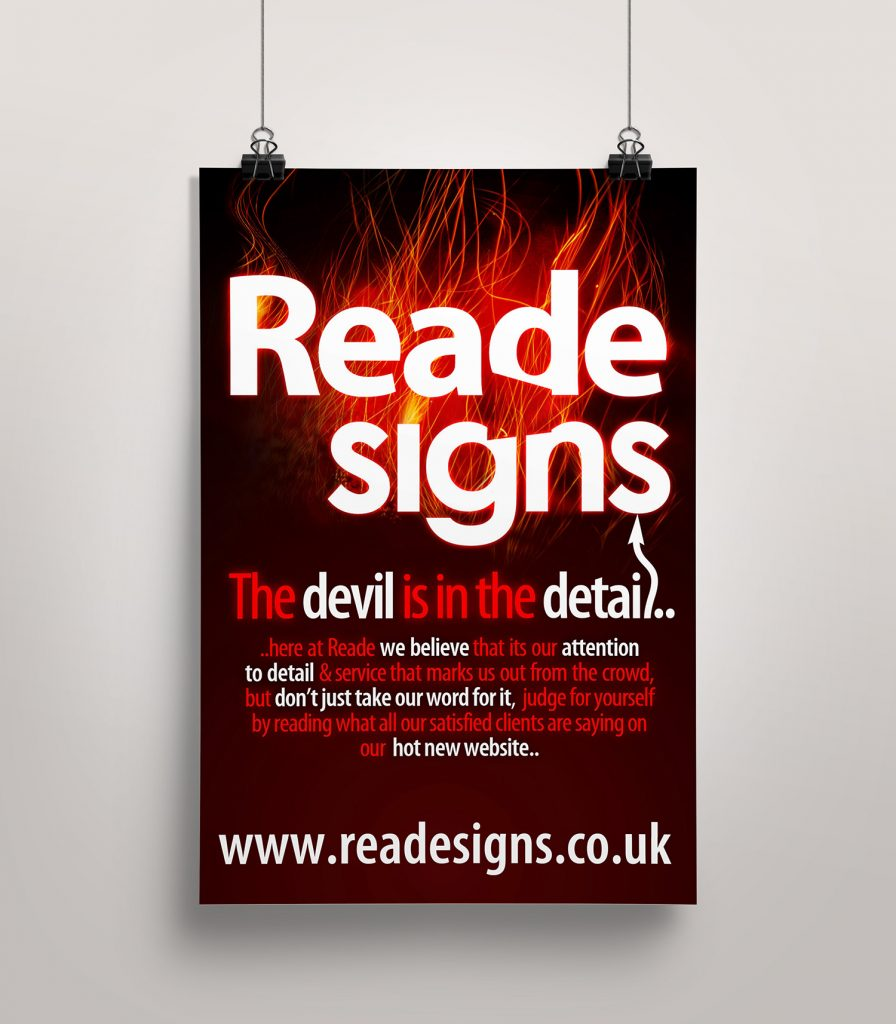 Reade Signs – Poster
