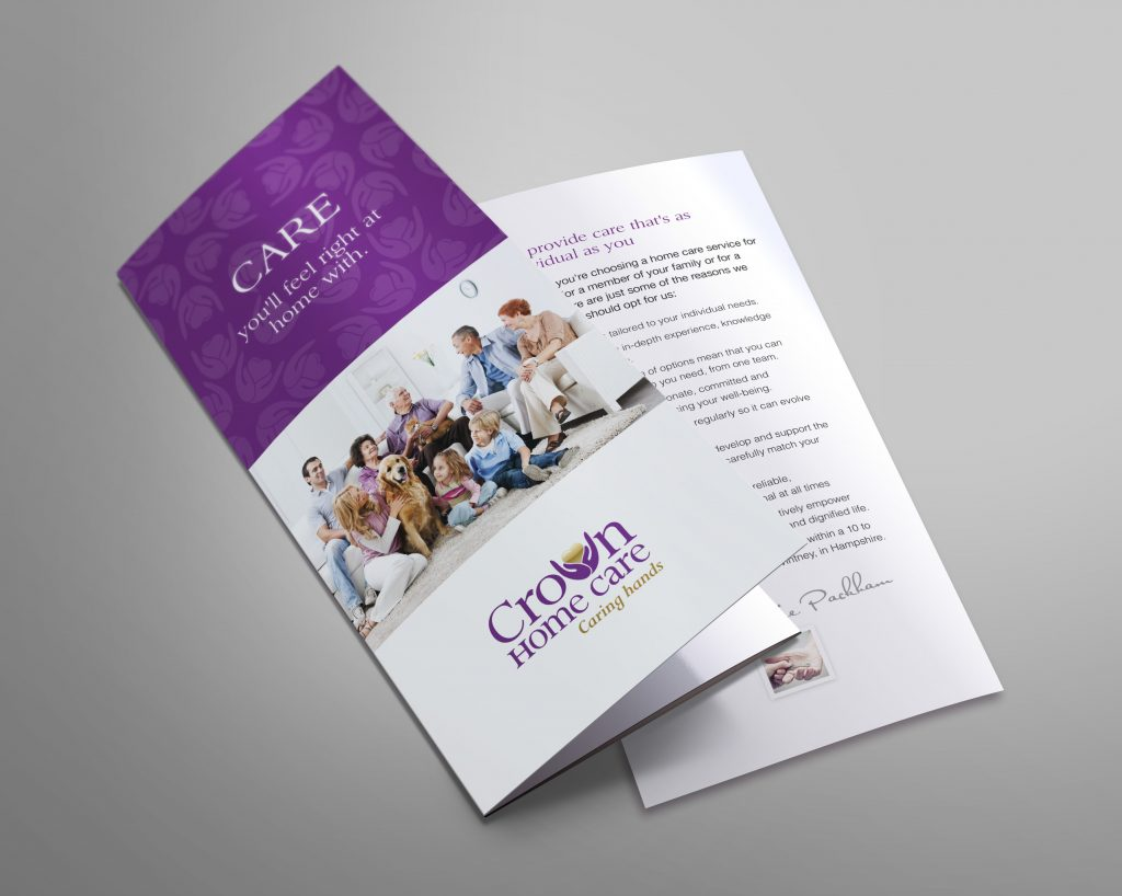 Crown Homecare – Leaflet