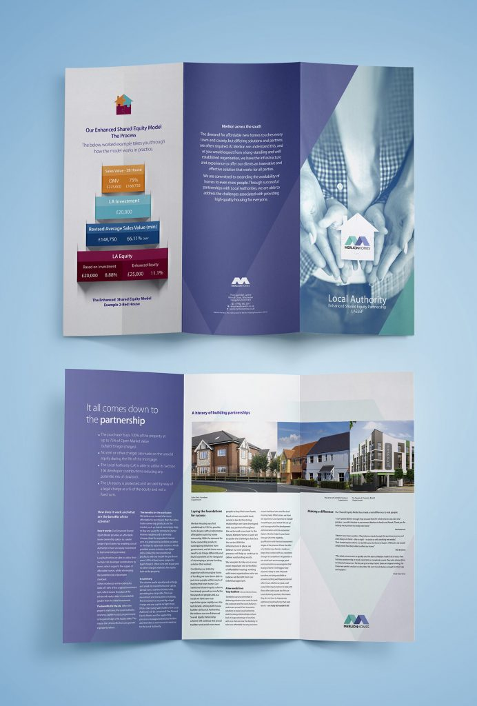 Merlion Homes – Leaflet