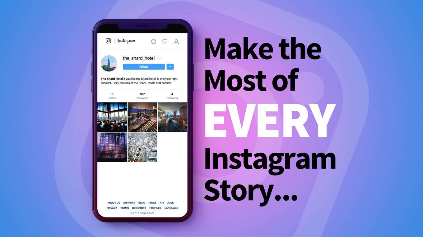 Make the most of every Instagram story
