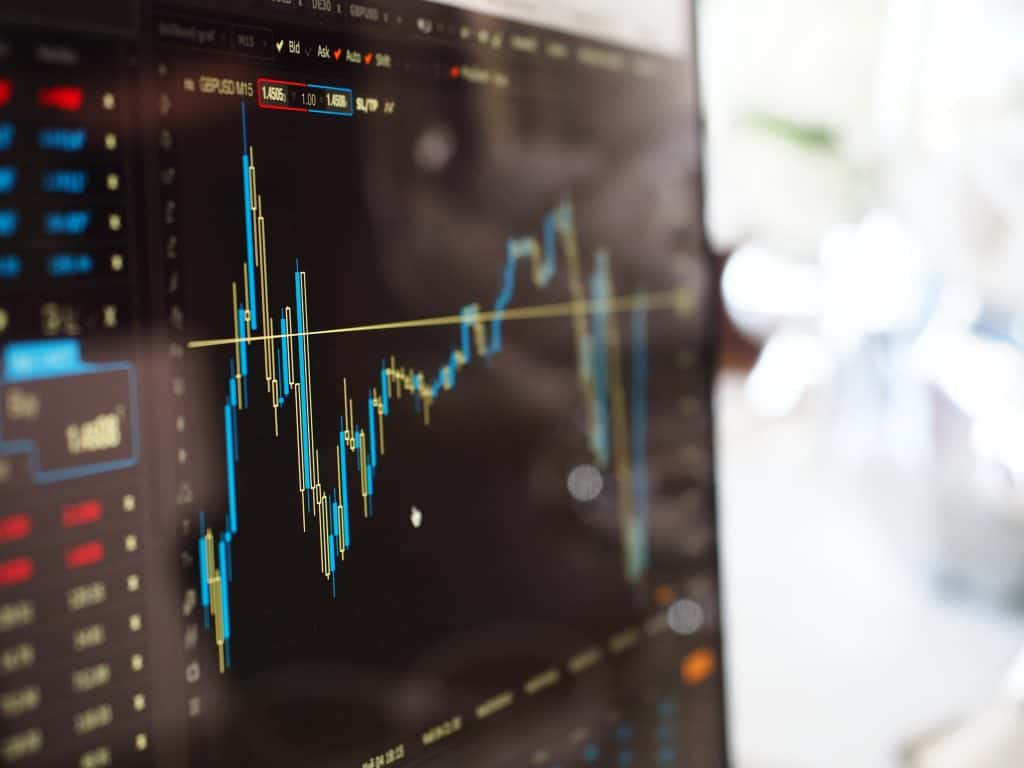 blue-and-yellow-graph-on-stock-market-monitor-159888