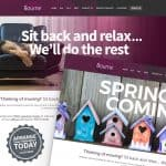 Estate agent website design and marketing